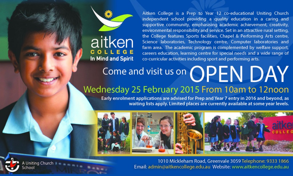 Open day 2015 Ad